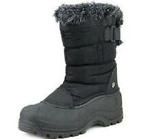 Women's NORTHSIDE SAINT HELENS Black Waterproof Winter Snow Boots/Shoes SZ 8