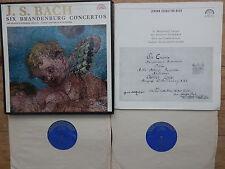 SUPRAPHON GS 10641-2 / 2 LP Box / BACH - SIX BRANDENBURG CONCERTOS / MUNCLINGER