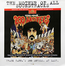 FRANK ZAPPA 1997 200 MOTELS SOUNDTRACK PROMO POSTER ORIGINAL