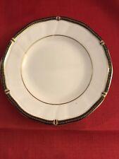 "Wedgewood Windsor Black 8"" Salad Plate"