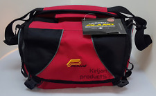 PLANO WEEKEND 3600 SERIES FISHING TACKLE TOOL BOX BAG RED~2 FREE STORAGE BOXES