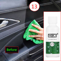 20ml Car Leather Seat Polish Care Wax Panel Dashboard Cleaner Kit Accessories