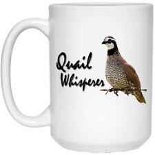Quail Whisperer Coffee Mug - Bobwhite Quail