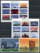 NICARAGUA 1994 Hist. Segelschiffe Ships Navi Bateaux 3712-3729 + Block 254-255