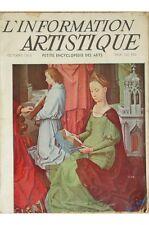 Collectif - L'information Artistique Petite Encyclopédie Des Arts N° 4