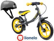 "First Bike Running Balance Bike Yellow 12"" for children + helmet NEW Orginal Box"