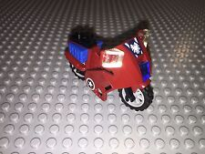 Lego 6865 Minifigure Accessories - Captain America Red Motorcycle / Bike NEW