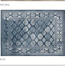 ORIGIN MAZRAHI MOROCCAN VINTAGE  STYLE RUG BLUE 3 SIZES OTHER COLOURS