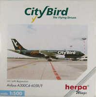 Airbus A300C4-605R/F City Bird Cargo OO-CTT Herpa 501910 1:500