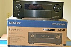 Denon AVR-X4500H 9.2-Channel A/V Receiver