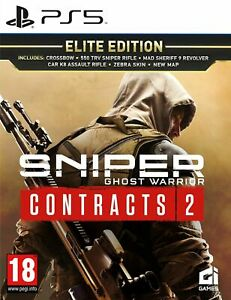 Sniper Ghost Warrior Contracts 2 Elite Edition (PS5) BRAND NEW SEALED