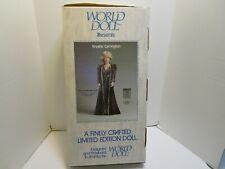 1985 WORLD DOLL LIMITED EDITION DYNASTY 19 INCH KRYSTLE CARRINGTON DOLL **NIB**