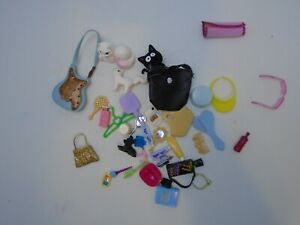 Mixed Barbie Bratz and similar doll Accessories Lot of 30+ pieces
