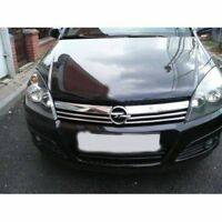 2004-2010 FIT vauxhall opel ASTRA H HB chrome front grill 4pcs S.STEEL