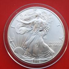 "América: 1 Pi. - OZ ""silver eagle"" 2002, St-bu # f 2046, semigloss"