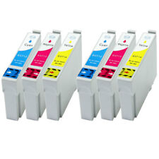 6 Farb- Patronen XL +Chip für Epson Stylus Office BX 300 300F 310