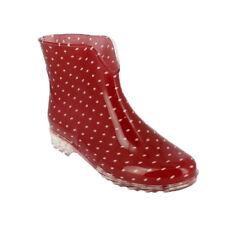 Damen Mädchen Gummistiefel Regenstiefel Stiefeletten Slipper Boots Schuhe NEU