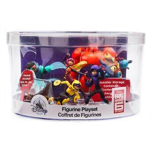 Big Hero 6 Figurine playset Disney Big Hero 6 cake toppers/toy set with play mat