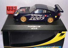 qq C2524 SCALEXTRIC UK PORSCHE 911 GT3R THE ENTERTAINER 2003 LIMITED EDITION
