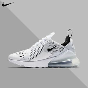 Nike Women's Air Max 270 White Black 2020 Training Running Gym New AH6789-100