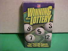 FACTORY SEALED VHS TAPE WINNING THE LOTTERY TIME LIFE VIDEO 1998 TIPS WINNERS