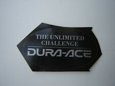"SHIMANO ""DURA-ACE THE UNLIMITED CHALLENGE"" DECAL / STICKER"