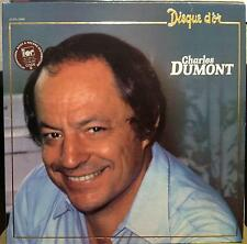 CHARLES DUMONT disque d'or LP Mint- 2C 070 72 004 Vinyl 1980 Record