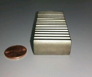 10 Neodymium Motor Magnets. Rare Earth Super Magnet N40uH High Heat Grade