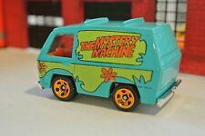 Hot Wheels Scooby Doo The Mystery Machine - Little Blue - Loose - 1:64