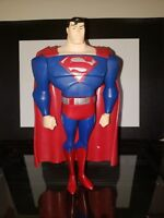 "Superman 10"" Justice League Unlimited Action Figure Mattel DC Comics 2003"