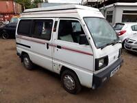 1996 SUZUKI SUPERCARRY CAMPER VAN STARTS+DRIVES SPARES OR REPAIRS