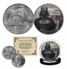 DARTH VADER - STAR WARS Officially Licensed 1976 Eisenhower IKE Dollar U.S. Coin