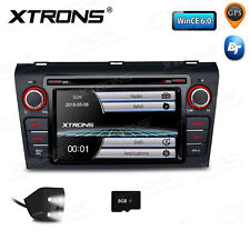 """XTRONS 7"""" Car DVD Player GPS Navigation Stereo Radio CANbus Camera for Mazda 3"""