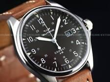 NEW Glycine Combat 6 Vintage Swiss ETA 2824 Auto Brown Dial Sapphire Watch 3890