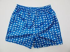 XL SIZE 05 BLUE THAI ELEPHANT SHORTS WOMEN PANTS WEAR MEN BOXER THIN LADY FREE