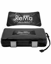 XiKAR 205RC Limited Edition Roma Craft 5 Cigar Travel Humidor Case Warranty