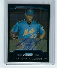 2004 Bowman Chrome Autograph Lastings Milledge #343 New York Mets Rookie Card