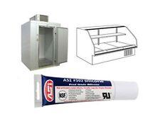 White Food Grade Silicone Sealant, 2.8 oz. Squeeze Tube