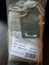 Restoration Hardware Italian Ultra-Fine Linen King Pillow Sham In Dune New