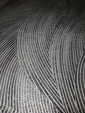 EUR 3,56/qm / Tapete VD219180 Eazybelly Wellen Modern Anthrazit Silber Metallic