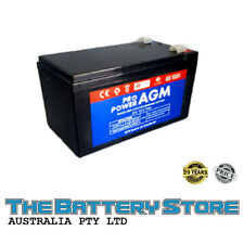 7AH 12V AGM SEALED DEEP-CYCLE RECHARGEABLE BATTERY ALARM NBN POWER SUPPLY