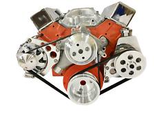 Sbc Serpentine Pulley Conversion Kit Alt Ps Chevy Small Block Sbc Lwp Long Wp 2