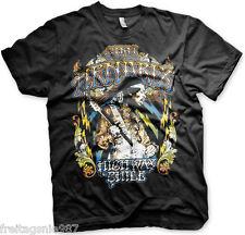 JIMI HENDRIX LIGHTNING  T-Shirt  camiseta cotton officially licensed