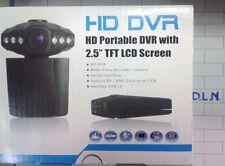 """TELECAMERA X AUTO DVR VIDEOREGISTRATORE HD SD 2,5"""" MONITOR TFT MOTO CAMPER BARCA"""