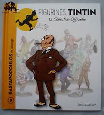 Livret TINTIN BD fascicule Rastapopoulos au tatouage figurine Hergé livre n°9