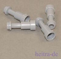 LEGO - 4 x Teleskop / Fernglas in hellgrau / 64644 NEUWARE
