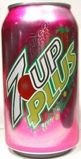 FULL New American Seven Up 7Up Plus Mixed Berry USA 2006 Limited Edition