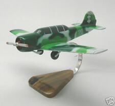 Yak-52 Yakovlev Trainer Yak52 Airplane Desk Wood Model Small New