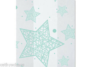 """25 Holiday Light Blue Stars Cello Bags 5x11"""" Cellophane Christmas Candy Cookies"""