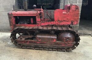 International Crawler TD9 Tractor NO VAT All Complete Barn Stored Weight 5 Ton